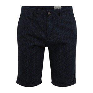 TOM TAILOR DENIM Chino kalhoty  tmavě modrá / nebeská modř