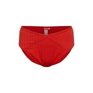 River Island Plus Plavecké šortky  červená