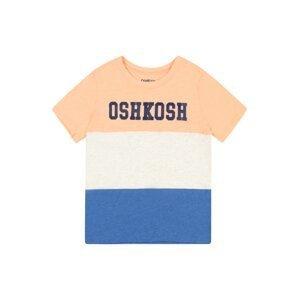 OshKosh Tričko  oranžová / bílá / modrá