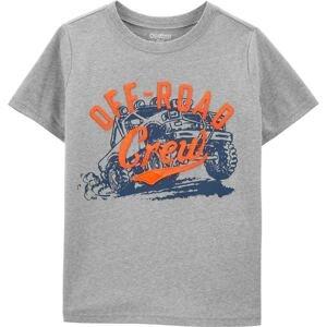 OshKosh Tričko  oranžová / modrá
