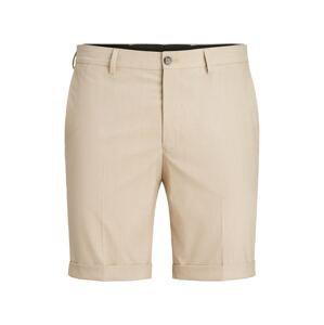 JACK & JONES Chino kalhoty 'Solaris'  béžová