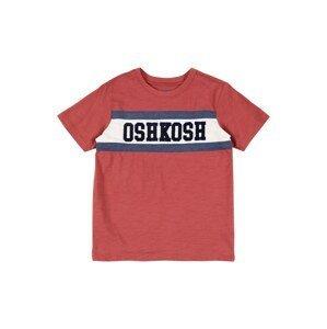 OshKosh Tričko  béžová / námořnická modř / pastelově červená