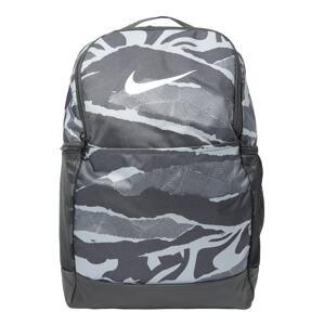 NIKE Sportovní batoh  černá / šedá / bílá