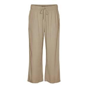 VERO MODA Kalhoty  světle hnědá
