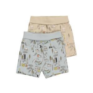 NAME IT Kalhoty 'HELGE'  opálová / světlemodrá / pastelově žlutá / námořnická modř / bílá