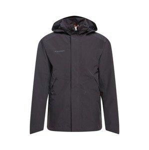 MAMMUT Outdoorová bunda 'Trovat'  černá / tmavě šedá