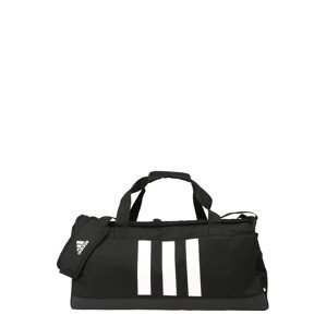 ADIDAS PERFORMANCE Sportovní taška  černá / bílá