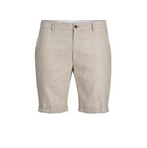 JACK & JONES Chino kalhoty 'RAY'  tmavě béžová