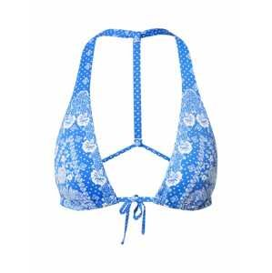 Polo Ralph Lauren Horní díl plavek  modrá / bílá