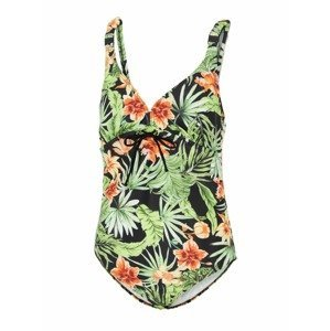 MAMALICIOUS Plavky 'Ussel'  černá / zelená / oranžová