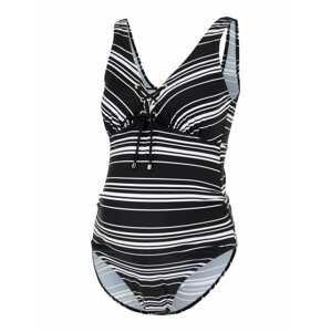 MAMALICIOUS Plavky 'Ava'  černá / bílá