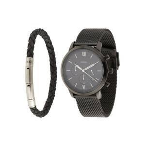 FOSSIL Analogové hodinky  černá