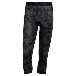 ADIDAS PERFORMANCE Sportovní kalhoty  šedá / černá