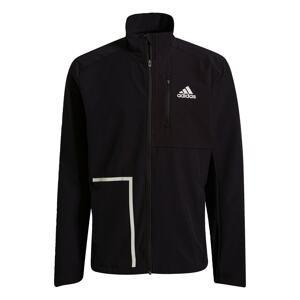 ADIDAS PERFORMANCE Sportovní bunda 'Own The Run'  černá / šedá