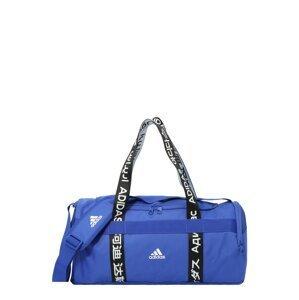 ADIDAS PERFORMANCE Sportovní taška  modrá / černá / bílá