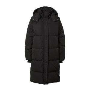MOSS COPENHAGEN Zimní kabát  černá