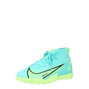 NIKE Sportovní boty 'Mercurial 8 Academy'  tyrkysová / svítivě žlutá / černá