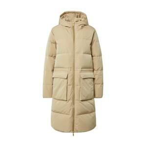 MOSS COPENHAGEN Zimní kabát  béžová