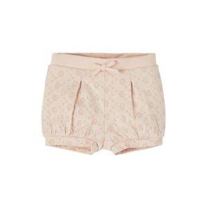 NAME IT Kalhoty 'Flora'  pastelově růžová