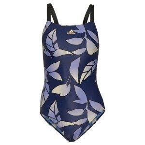 ADIDAS PERFORMANCE Sportovní plavky  námořnická modř / kouřově modrá / žlutá