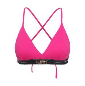 Tommy Hilfiger Underwear Horní díl plavek  pink / černá / oranžová / bílá