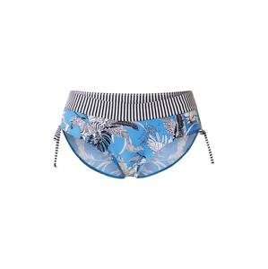 ESPRIT Spodní díl plavek 'TULUM BEACH'  nebeská modř / černá / bílá