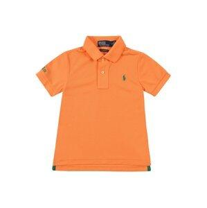 Polo Ralph Lauren Tričko  broskvová / trávově zelená