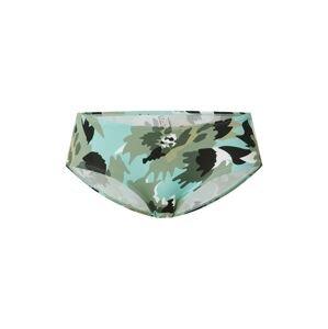 ESPRIT Spodní díl plavek 'HERA'  khaki / mátová / pastelově zelená / bílá / černá