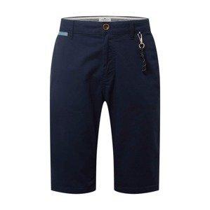 TOM TAILOR Chino kalhoty  námořnická modř