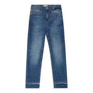 Calvin Klein Jeans Džíny  modrá džínovina / černá / bílá