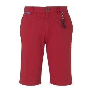 TOM TAILOR Chino kalhoty  pastelově červená