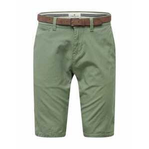 TOM TAILOR Chino kalhoty  olivová