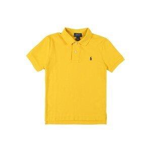 POLO RALPH LAUREN Tričko  zlatě žlutá