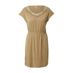 ONLY Letní šaty 'FREE LIFE'  světle hnědá