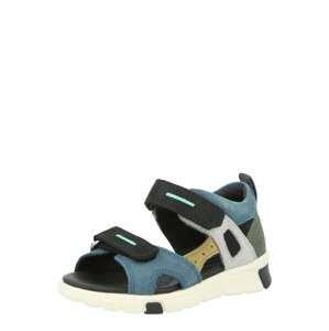 ECCO Otevřená obuv  světle šedá / tmavě zelená / žlutá / modrá / kobaltová modř