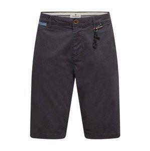 TOM TAILOR Chino kalhoty  tmavě šedá
