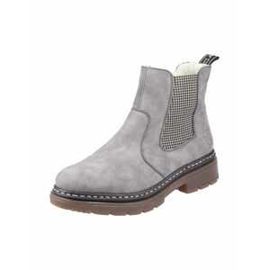 RIEKER Chelsea boty  šedá