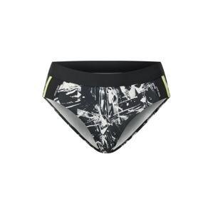 ESPRIT SPORT Sportovní spodek bikin  černá / bílá / světle šedá / svítivě žlutá