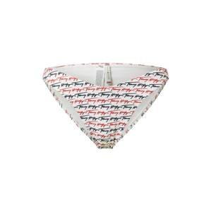 Tommy Hilfiger Underwear Spodní díl plavek 'CHEEKY'  bílá / námořnická modř / červená