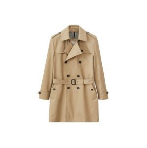 MANGO MAN Přechodný kabát  světle hnědá