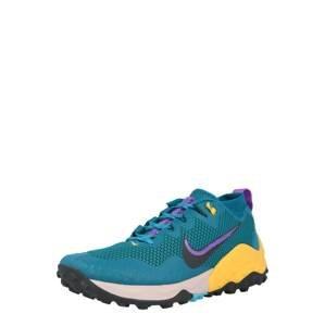 NIKE Běžecká obuv 'Wildhorse 7'  tyrkysová / petrolejová / fialová / žlutá