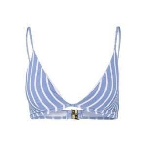 Tommy Hilfiger Underwear Horní díl plavek  kouřově modrá / bílá