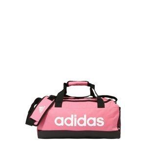 ADIDAS PERFORMANCE Sportovní taška  růžová / černá / bílá