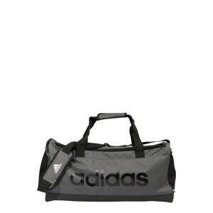 ADIDAS PERFORMANCE Sportovní taška  antracitová / černá