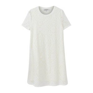 Desigual Letní šaty  bílá