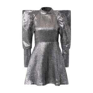 Freebird Koktejlové šaty  stříbrně šedá