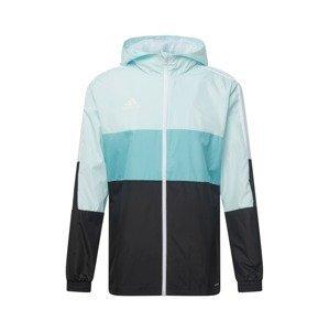 ADIDAS PERFORMANCE Sportovní bunda  světlemodrá / černá / bílá / tyrkysová