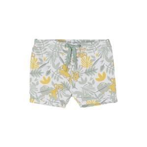 NAME IT Kalhoty  bílá / mátová / žlutá