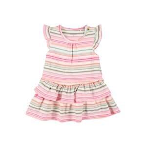 STACCATO Šaty  růžová / bílá / oranžová / zelená / tyrkysová