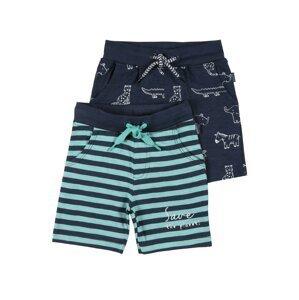 STACCATO Kalhoty  námořnická modř / bílá / tyrkysová